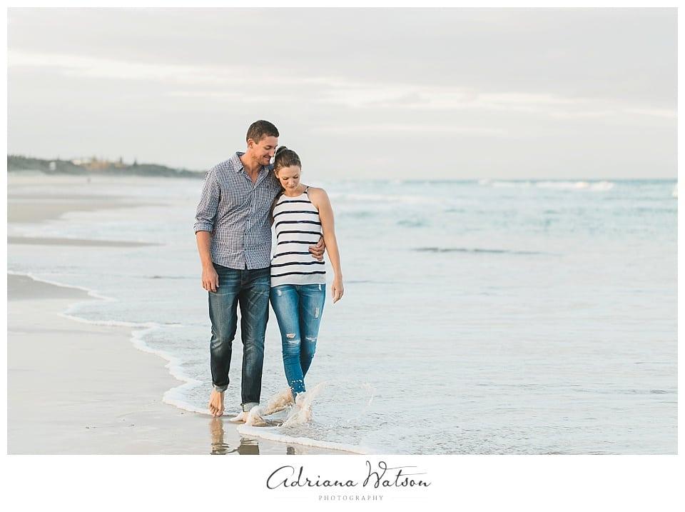 Sunshine Coast engagement session Tim and Irina