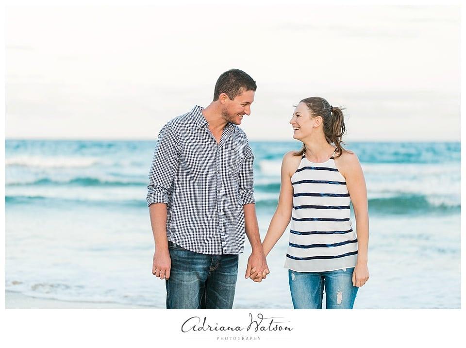 Sunshine Coast engagement session - Tim and Irina