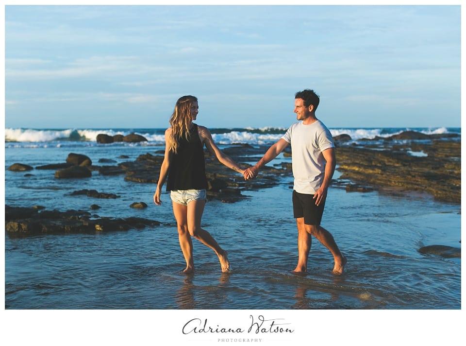 Engagement session Sunshine Coast