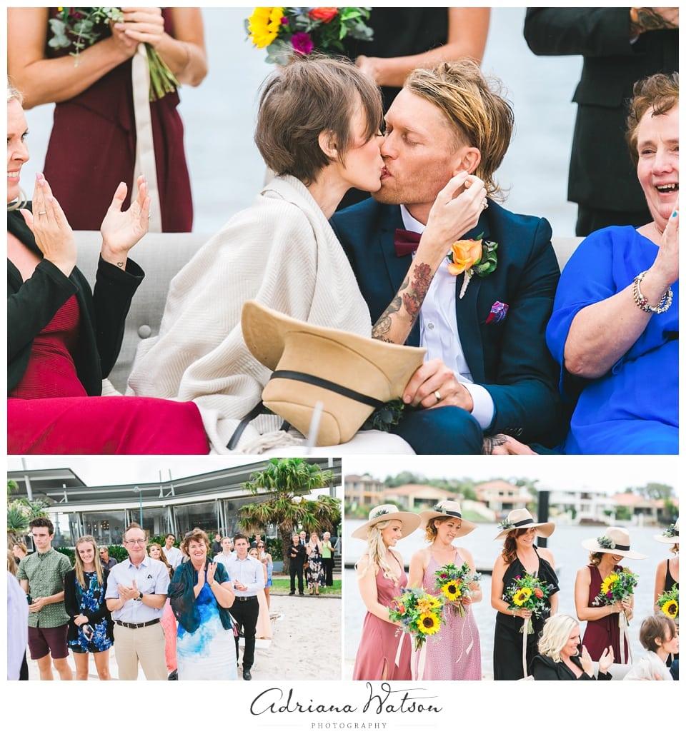 Sunshine Coast wedding Green Zebra