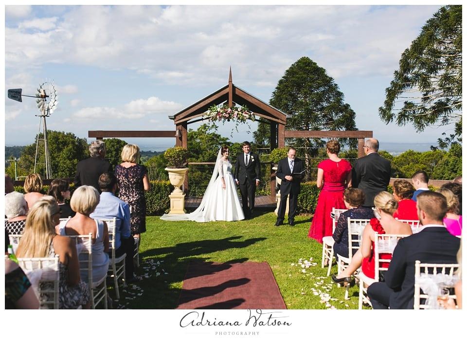 Montville Wedding Flaxton Gardens