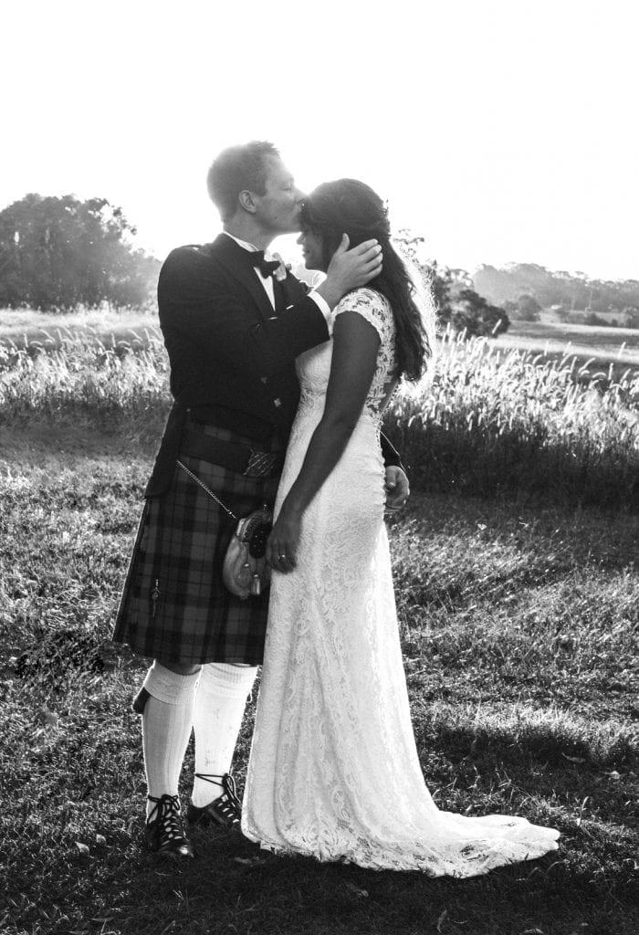 sunshine coast Scottish wedding