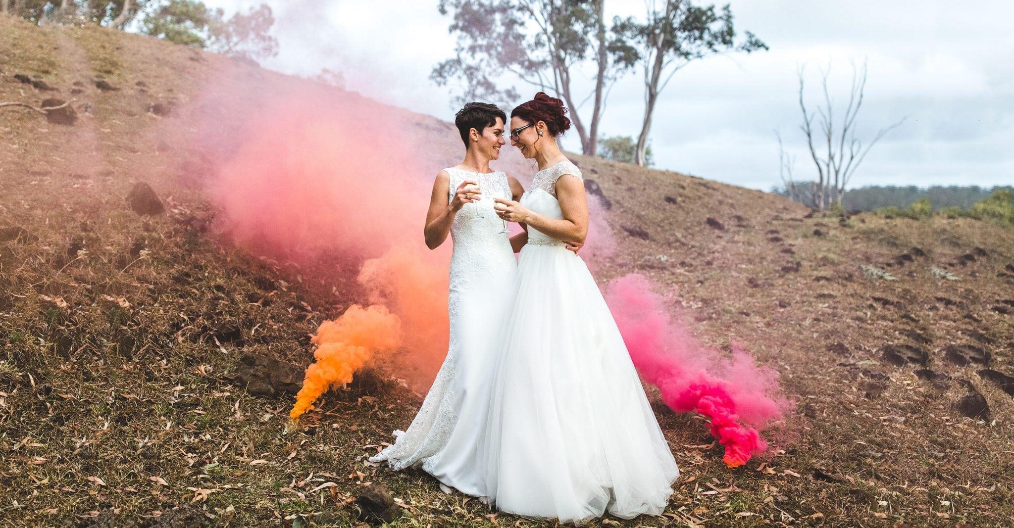 Same sex wedding Sunshine Coast