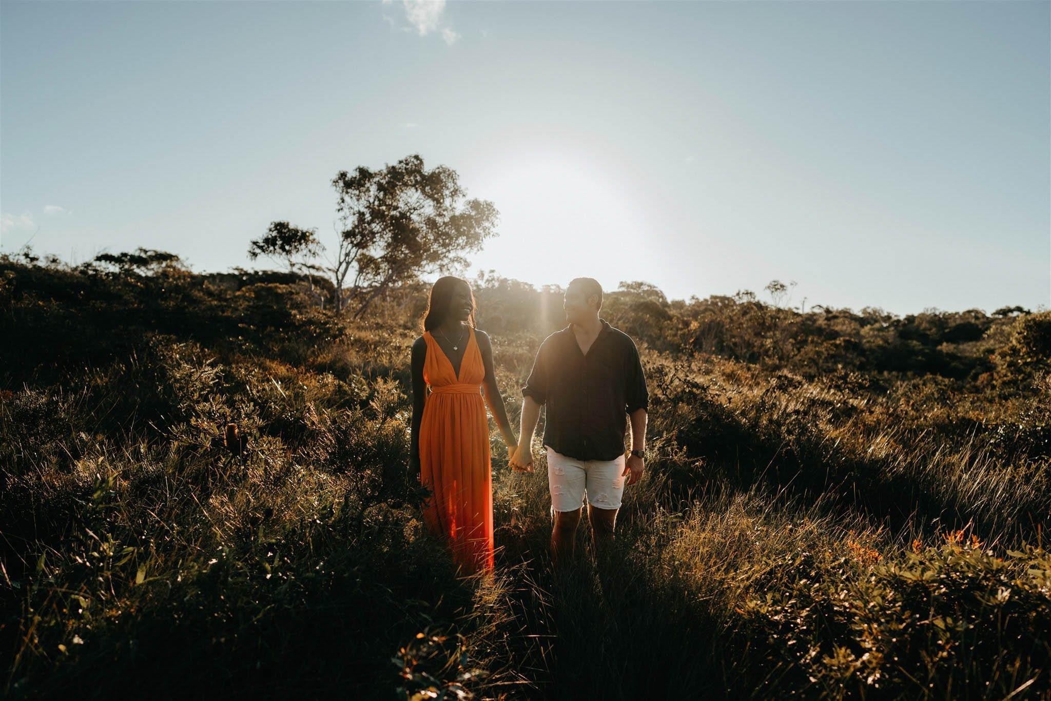 Engagement shoot Sunshine Coast