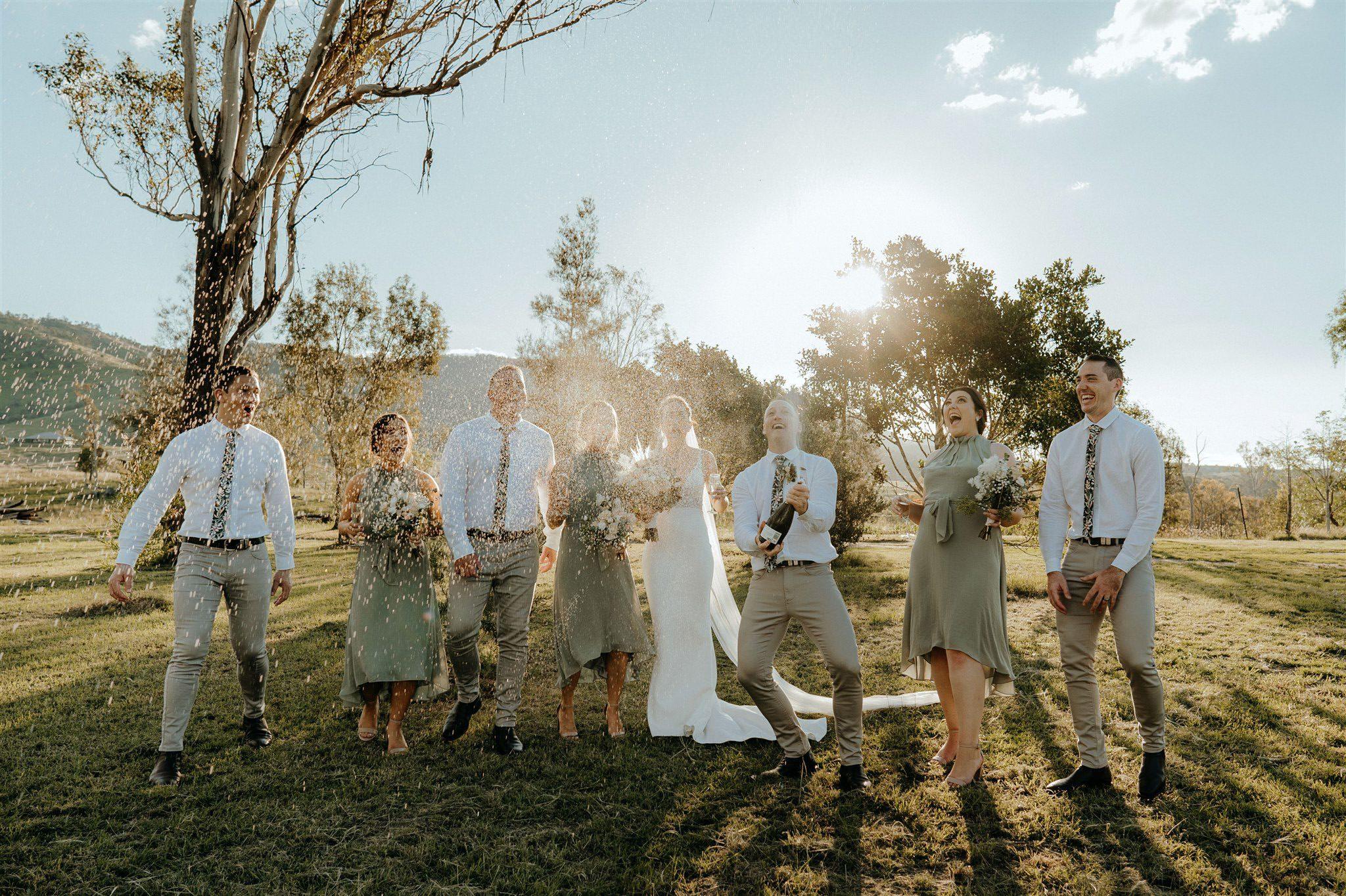 somerset dam wedding